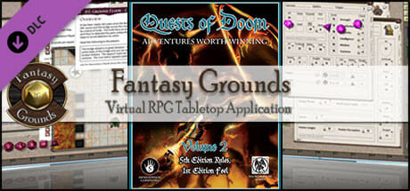 Fantasy Grounds - Quests of Doom 2 (5E) Download